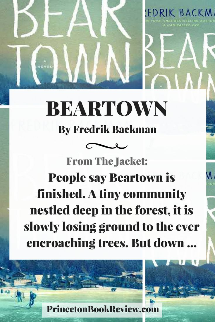 From the author of A MAN CALLED OVE, a dynamic story showing the ambiance of small-town life and packed with beautifully flawed characters.  Beartown By Fredrik Backman #reading #books #fiction