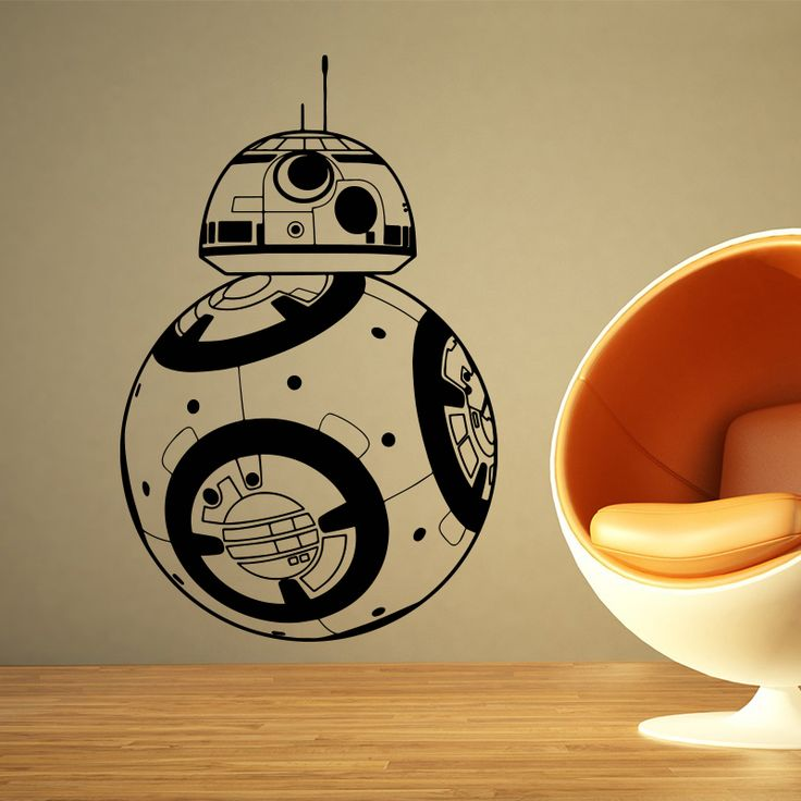 Star Wars movie BB-8 Wall Sticker //Price: $21.35 & FREE Shipping //     #stickers