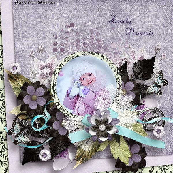 Lovely Moments by Crystal1972. Kit: Lovely Moment by Butterfly Dsigns http://scrapbird.com/designers-c-73/a-c-c-73_514/butterflydsign-c-73_514_568/lovely-moment-page-kit-p-17698.html