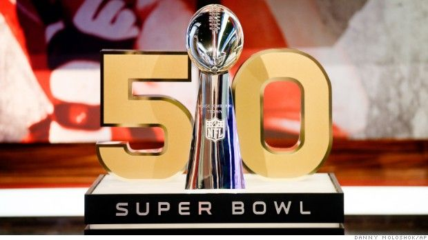 NFL ditches Roman numerals for Super Bowl 50 - Sep. 10, 2015