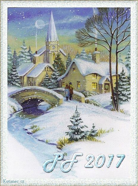 034 novoroční přání - nový rok