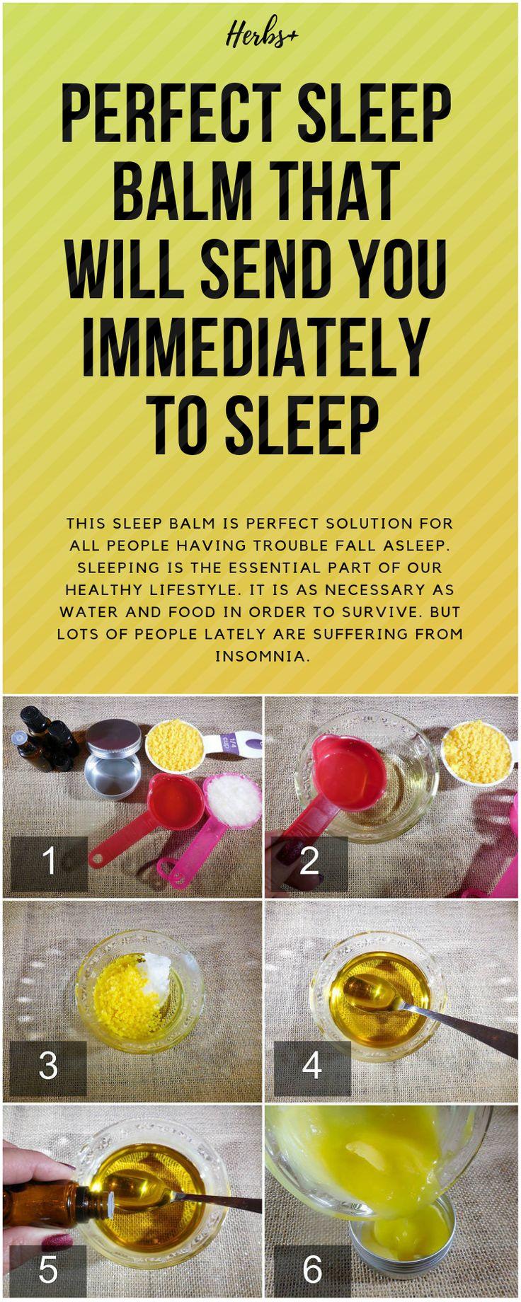 Perfekter Schlafbalsam, der Sie sofort in den Schlaf schickt   – Health