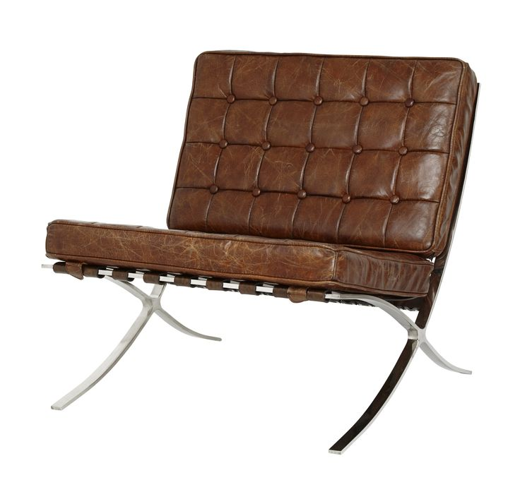 Leather chair from an eclectic collection of furniture and accessories at HomeSense #FashionYourHome