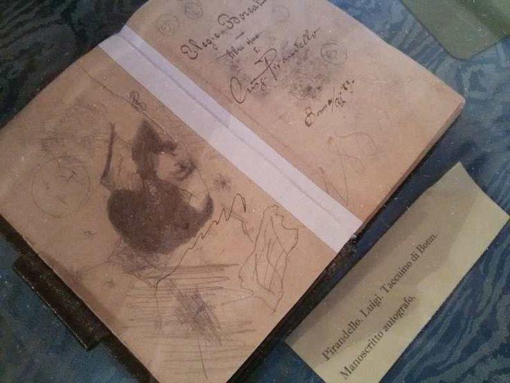 Taccuino di Bonn. manoscritto autografo