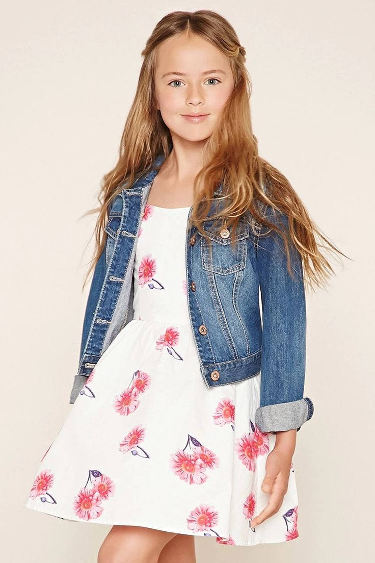 Forever 21 Girls - A woven cami dress complete with adjustable straps #f21kids