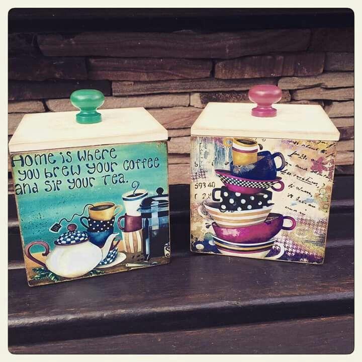 Coffee & tea decanters