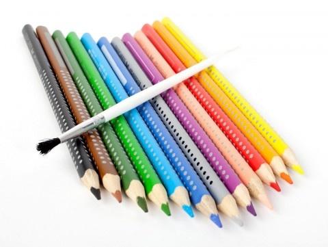 Watercolor Pencils - Drawing - DIY Materials | Kids Crafts & Activities for Children | Kiwi Crate $7.95