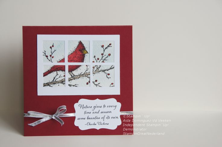 Beauty of the season stamp set, Stampin'Up!