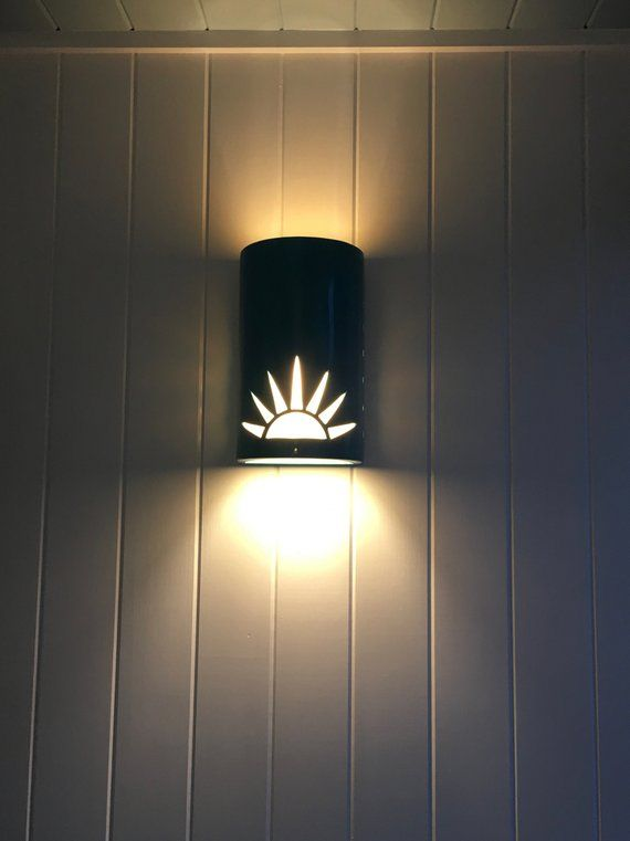 Sun Rise Outdoor Wall Sconce Ceramic