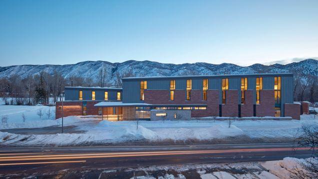 Super-Efficient Building in Rocky Mountains Has No Central Heat.  #sustainability #colorado