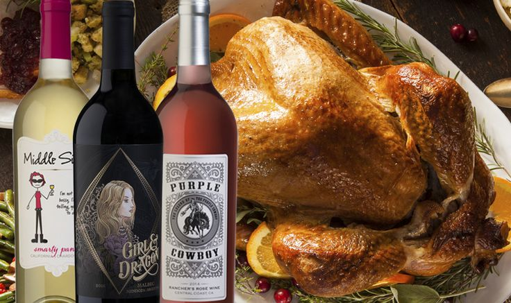 To celebrate Thanksgiving, we've put together a 6-pack of wines that will pair perfectly with your meal from start to finish.  Enjoy 2 bottles each of Purple Cowboy Rosé, Middle Sister Chardonnay, and Girl & Dragon Malbec to share at your Thanksgiving table for just $60.