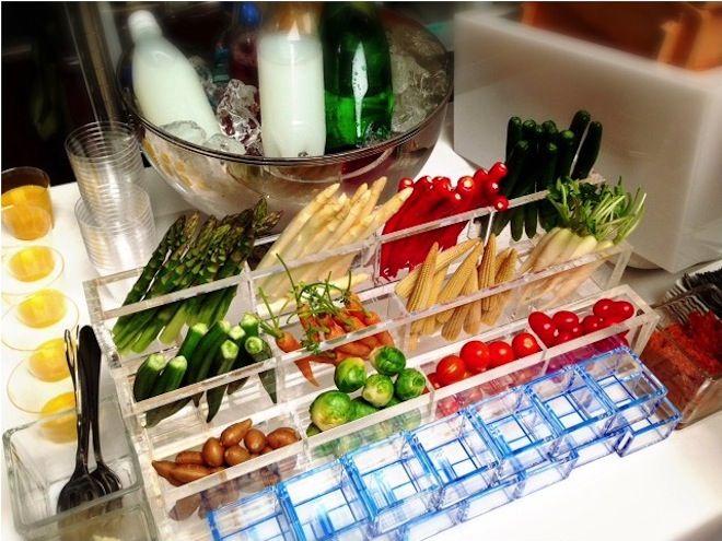 目にも鮮やか、 一番人気は SEASON の野菜ケータリング。