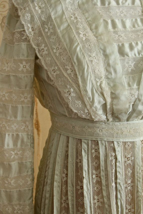 Breathtaking Antique Dress / Edwardian Dress / by WhynaughtShop