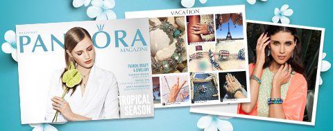 the new Pandora magazine #PandoraSummercontest.