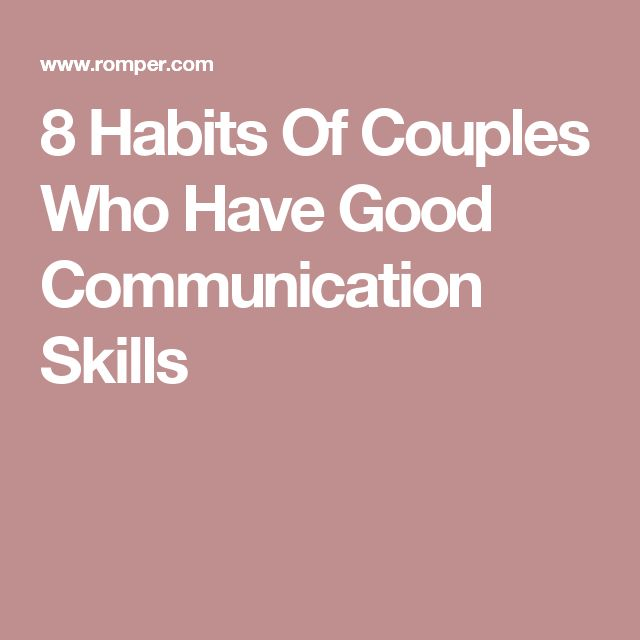 8 Habits Of Couples Who Have Good Communication Skills