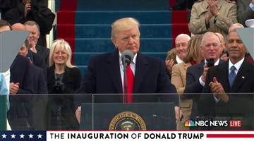 Watch Donald Trump Take the Presidential Oath of Office - NBC News