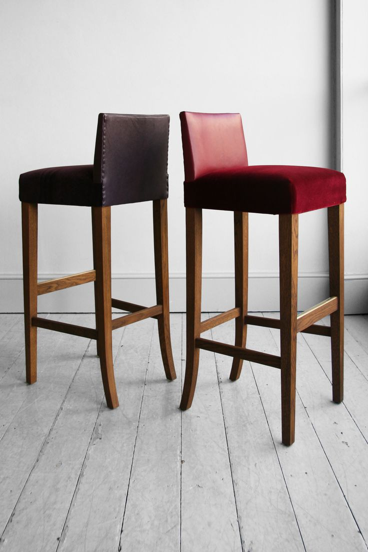 Howe A classic bar stool shape of elegantly slim proportion. With options  of square or - 42 Best Bar Stools Images On Pinterest