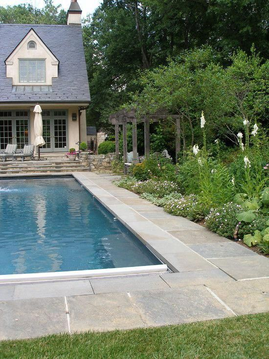 pool landscaping borders edging design pictures remodel decor and rh pinterest com