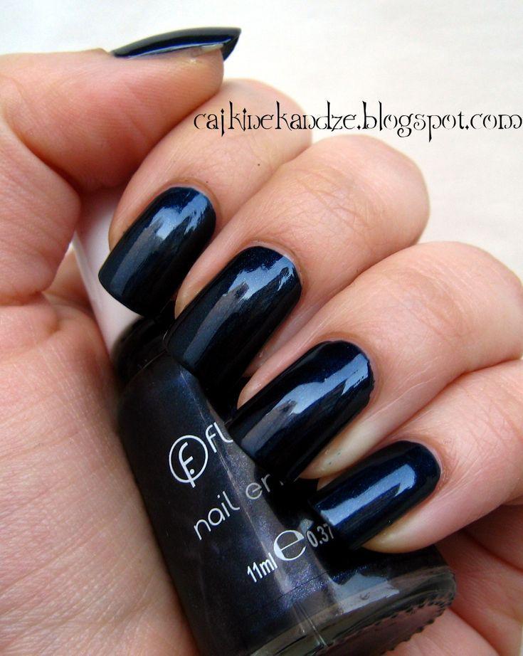 Flormar 398 Blue Black
