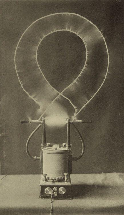 Electrical oscillator by Nikola Tesla / Sacred Geometry <3