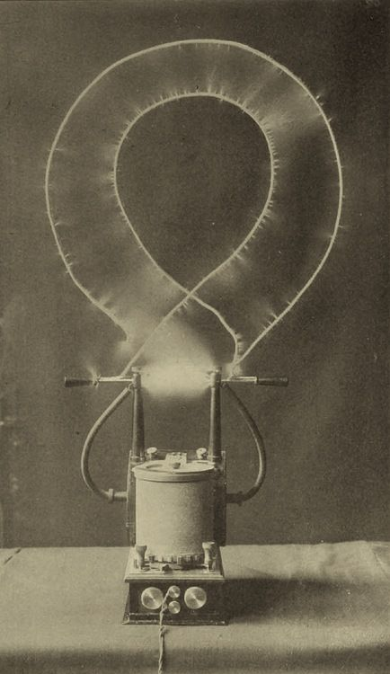 electrical oscillator by Nikola Tesla