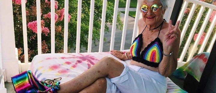 Jovem de espírito: bisavó de 88 anos faz o maior sucesso no Instagram