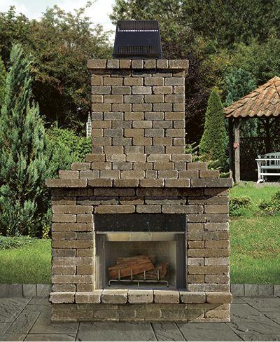 141 best Cambridge Outdoor Fireplaces images on Pinterest