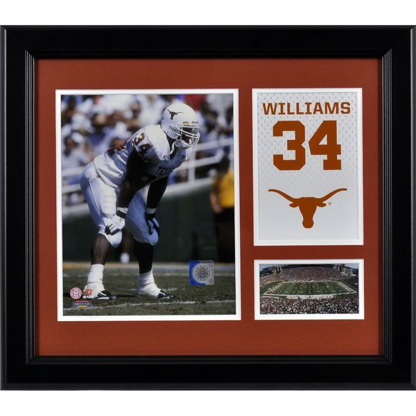 """Ricky Williams Texas Longhorns Fanatics Authentic Framed 15"""" x 17"""" Campus Legend Collage - $59.99"""