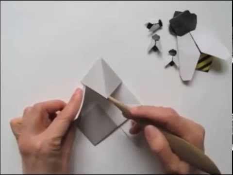 Cara Membuat Lebah Madu Origami Kertas https://www.youtube.com/watch?v=mvTDnQEpoDQ