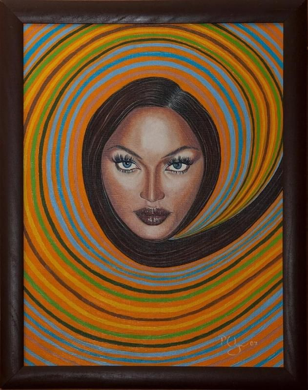 Naomi by Peter Varga, http://www.almondarte.com/10160