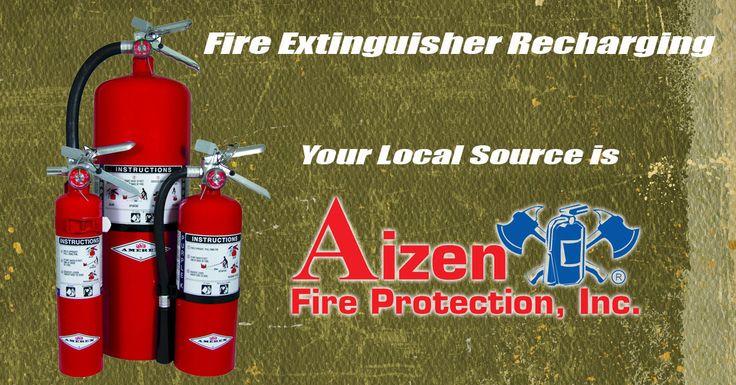Fire Extinguisher Recharging, Canoga Park, CA Fire