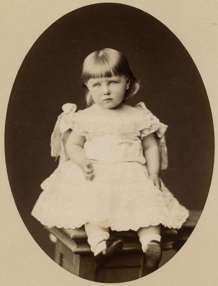 Princess Marie of Edinburgh later Queen of Romania.