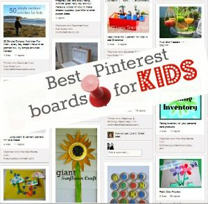 Pintrest Boards for KIDS (links included)