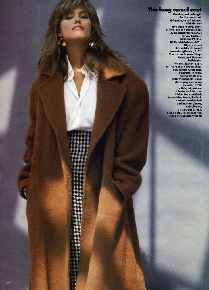 UK Vogue Oct 1986                                                                                                                                                                                 More