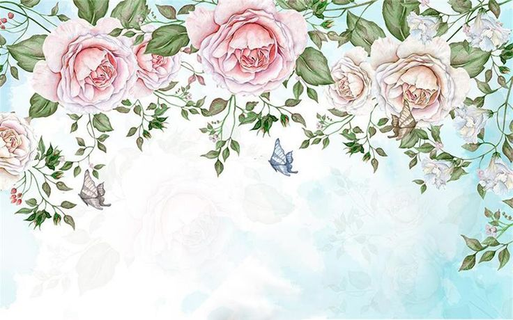 3d обои на заказ фотография фреска нетканые Ретро цветы лепестки ТВ фоне стены 3d живопись гостиная обои для стены 3dкупить в магазине HRTO Wallpaper 2802199 StoreнаAliExpress