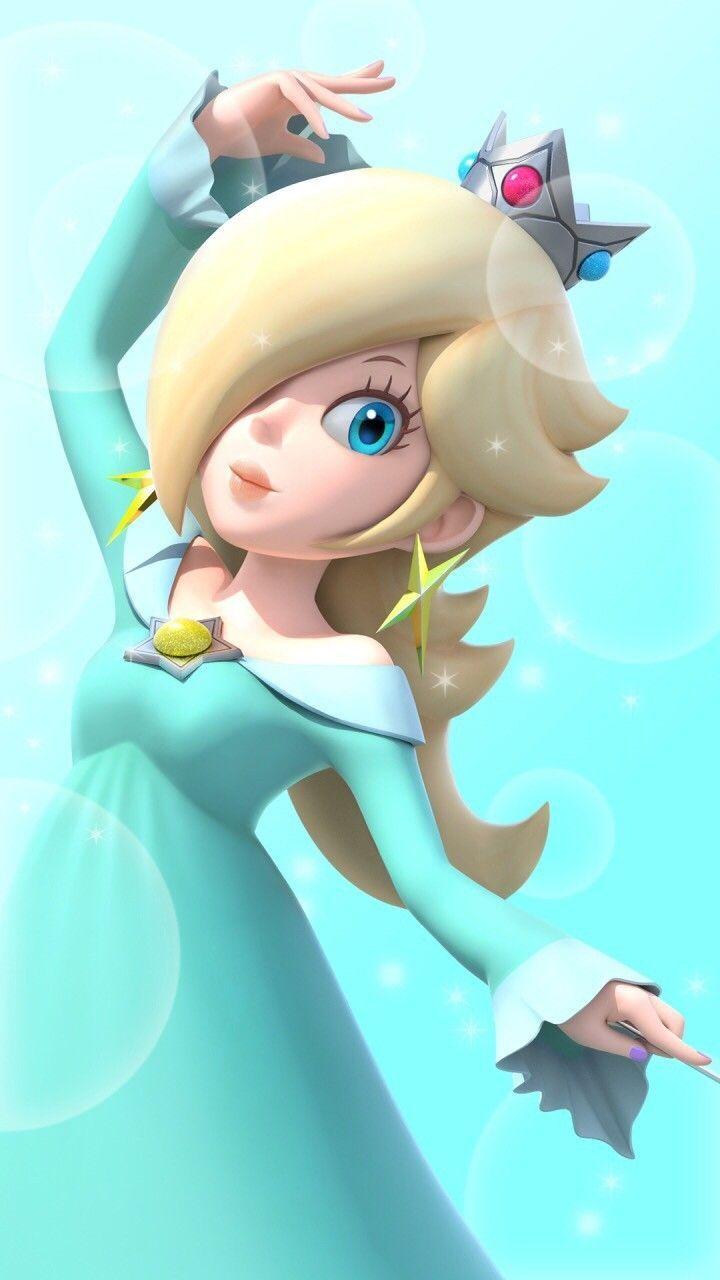 Princess Rosalina Anime Princess Rosalina Super Mario Art Super Mario Princess Peach Mario