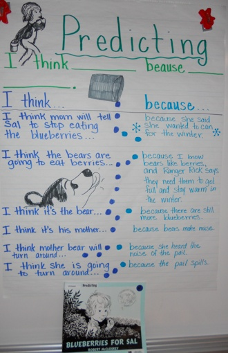 books for making predictions first grade