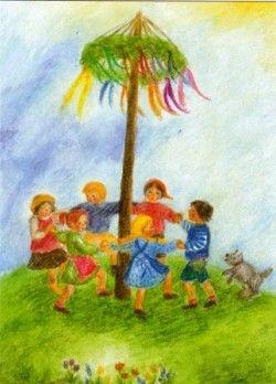 'Dans rond de meiboom' - Ilona Bock
