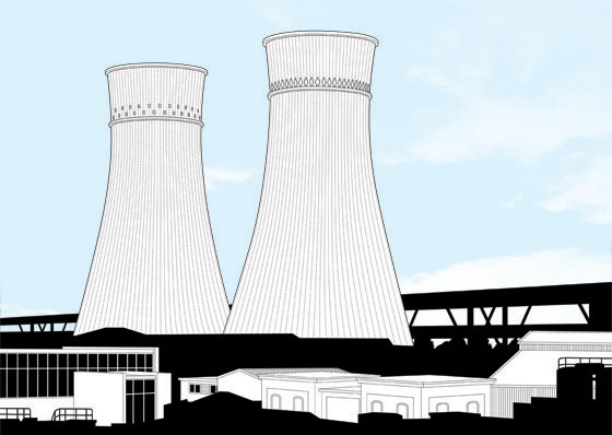 Sheffield cooling towers