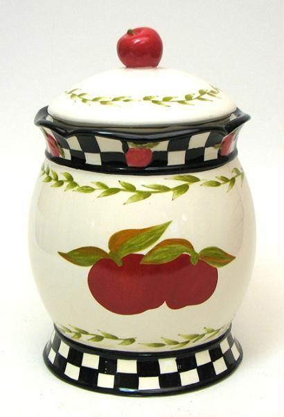 Country Homes Cookie Jars And Home Kitchens On Pinterest