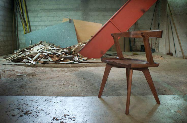 дневник дизайнера: Мебель из ореха