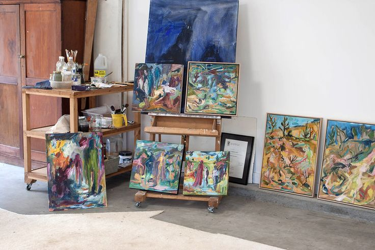 Studio visit with Australian artist Ruth Stone for The Corner Store Gallery www.cornerstoregallery.com