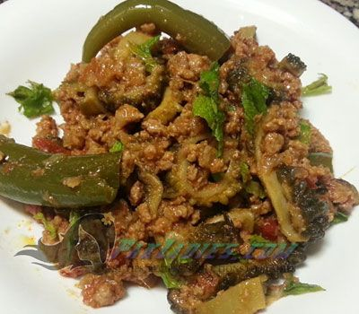 45 best pakistani recipe images on pinterest pakistani recipes how to make mazedar keema karela english urdu recipe forumfinder Images