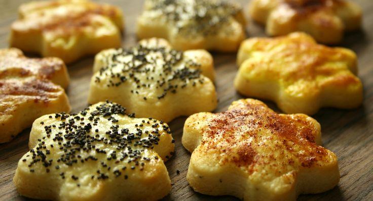 Le ricette del Cluster- Biscotti con parmigiano e pecorino