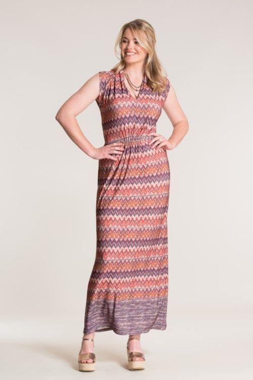 Zigzag jurk look. #missetam