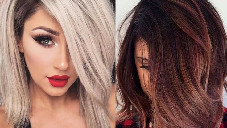 Hair Colors And Styles: Fall 2017 & Winter 2018 Hair Color Trends And Ideas