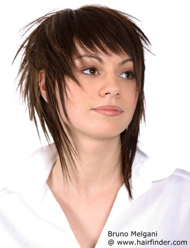 front back haircut 1000 ideas about choppy hairstyles on 2063