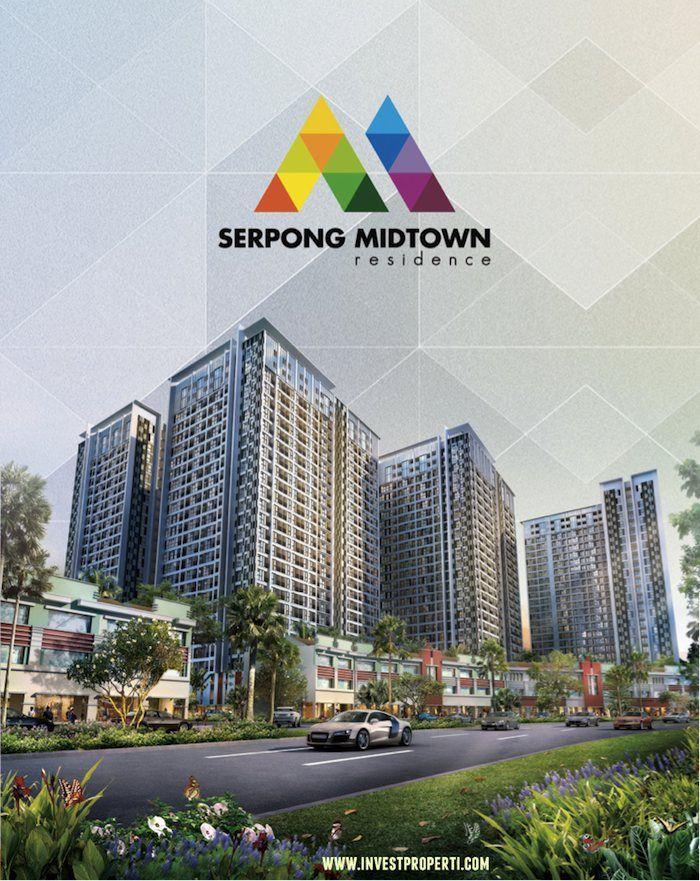 Brosur apartemen Serpong Midtown Residence. #serpongmidtown #serpongmidtownresidence #apartemenserpongmidtown