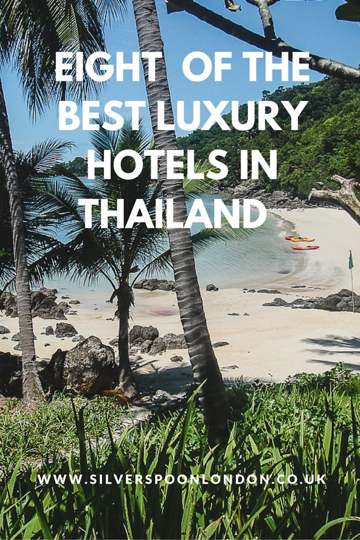 Eight of the Best Luxury Hotels in Thailand. Check out this post for luxury Thailand travel.