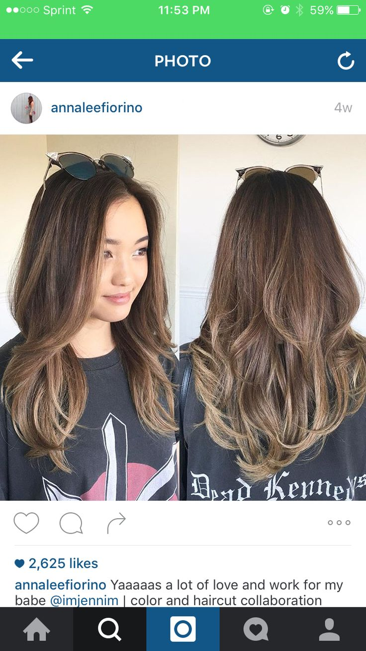 best 25 asian highlights ideas on pinterest balayage